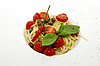 A plate of pasta | Stock Foto