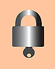 Vektor Cliparts: Die Lock