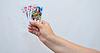 Hands, cards | Stock Foto