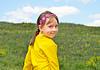 Girl in field | Stock Foto