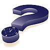 Vector clipart: few minutes to deadline