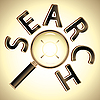 Vector clipart: search the target
