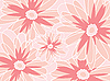 Vector clipart: abstract flower background