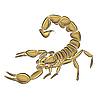 Vector clipart: Scorpion