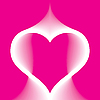 Abstract pink heart | Stock Vector Graphics