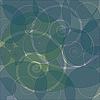 Vector clipart: abstract swirly retro background