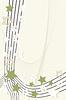 Vektor Cliparts: Retro-Sterne-Vignette