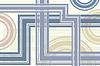 Векторный клипарт: абстрактные линии кругах фон