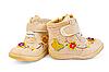 Photo 300 DPI: Beige Children`s boots