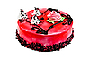 Cake with red jelly | Stock Foto