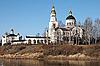 Photo 300 DPI: Compound Novo Tikhvinsky nunnery
