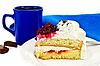 ID 3214149 | Ciasto w misce z kawą i czekoladą | Foto stockowe wysokiej rozdzielczości | KLIPARTO