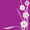 Векторный клипарт: Кадр фиолетовый
