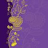 Векторный клипарт: цветок карты