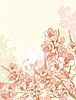 Vector clipart: Spring flowers design