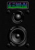 Vector clipart: Sound speakers