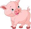Vector clipart: Little Piglet
