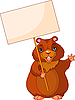 Vector clipart: Groundhog Day Sign