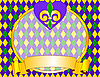 Mardi Gras background design