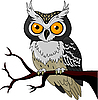 Vector clipart: Night Owl