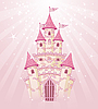 Vector clipart: Pink Castle