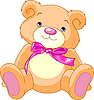 Vector clipart: Teddy Bear