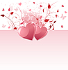 Vector clipart: Valentine Day background