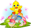 Happy Easter duckling