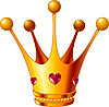 Vector clipart: Princess crown