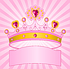 Krone von Prinzessin