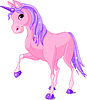 Pink Unicorn | Stock Vector Graphics