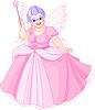 Vector clipart: Fairy Godmother