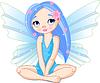 Vector clipart: Little fairy
