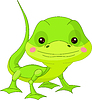 Vector clipart: Funny Lizard