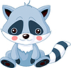 Funny Raccoon | Stock Vector Graphics