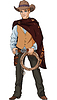 Vector clipart: Wild west. Young cowboy