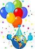 Vector clipart: Earth Birthday