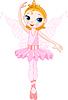Nette Fee Ballerina