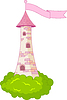 Vector clipart: Romantic Tower