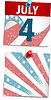 Vector clipart: Patriotic notes