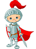 Medieval knight | Stock Vector Graphics