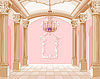 Vector clipart: Ballroom of magic castle