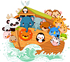 Noah`s Ark | Stock Vector Graphics