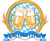 Vector clipart: Oktoberfest label design