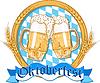 Oktoberfest label design