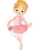 niedliche kleine Ballerina