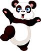 Vector clipart: Kung fu Panda