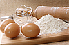 Ingredients to bake | Stock Foto