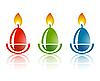 Vector clipart: Easter egg logo