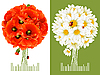 ID 3198141 | Floral Greeting Cards | 벡터 클립 아트 | CLIPARTO